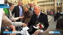 Eurozapping : l'ex-roi des Belges forcé à un test ADN, la construction d'une cathédrale contestée en Russie
