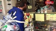 """VIDEO. """"Poubelle la vie - le défi"""" à Tours : une glace avec ou sans déchet ?"""