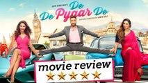De De Pyaar De MOVIE REVIEW | Ajay Devgn, Tabu, Rakul Preet Singh | Akiv Ali