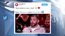 Karim Benzema papa : Le footballeur ému aux larmes à l'évocation de ses enfants