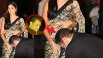 Salman Khan fixes Katrina Kaif's Saree during Bharat song launch; Check Out   FilmiBeat