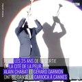 Alain Chabat et Gérard Darmon ont dansé la carioca pendant le Festival de Cannes