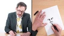 Comment dessiner Lino Ventura, la leçon de dessin de Stéphane Oiry