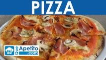 Receta de pizza fácil y casera  | QueApetito