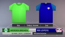 Match Preview: Werder Bremen vs RB Leipzig on 18/05/2019
