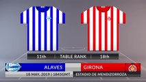 Match Preview: Alaves vs Girona on 18/05/2019