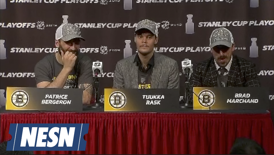 Patrice Bergeron, Tuukka Rask On Advancing To 2019 Stanley Cup Final