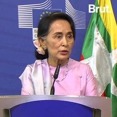 Aung San Suu Kyi's Fall From Grace