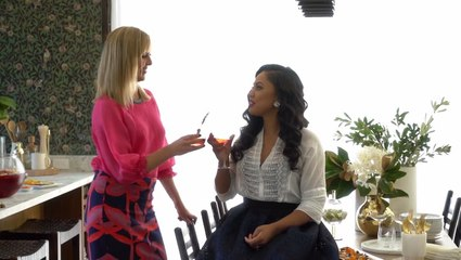 Behind our cover shoot with Ayesha Curry & Amanda Haas