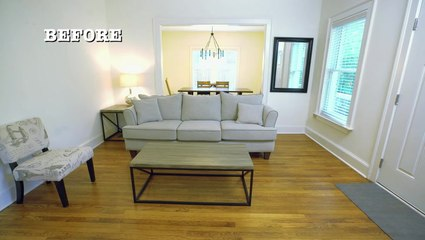 A Welcoming Living Room Makeover
