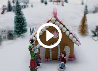PureWow Presents: How to Build a Gingerbread House