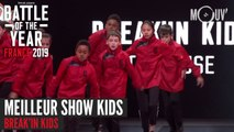 BOTY FRANCE 2019 : Meilleur show kids avec Break'in Kids