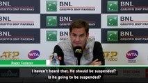 Djokovic and Federer react to Kyrgios meltdown