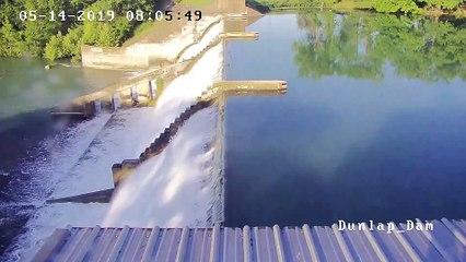 La rupture du barrage de Lake Dunlap