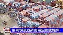 PPA: Port of Manila operations improve amid decongestion