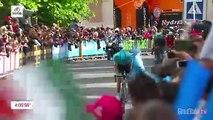 Giro d'Italia 2019   Stage 7   Last KM
