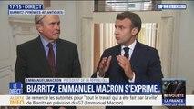 """Sécurité du G7 à Biarritz: Emmanuel Macron assure que """"les moyens seront là"""" pour """"éviter les dérives"""""""