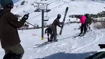 Swinging Skis on the Slopes