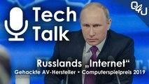 "Russlands eigenes ""Internet"", gehackte AV-Hersteller, Computerspielpreis - QSO4YOU Tech Talk #14"