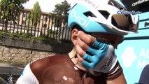 """Tour d'Italie 2019 - Tony Gallopin 2e de la 7e étape : """"C'est une petite déception car j'y ai cru toute la journée"""""""