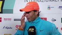 Rafa Nadal on his straight sets win over Fernando Verdasco