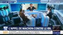 Macron à Biarritz: L'appel contre le RN