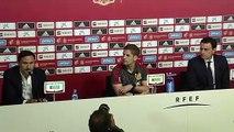 Luis Enrique not thinking about leaving Spain coaching role