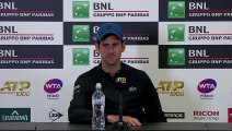 (Subtitled) Djokovic dodges Kyrgios question in press conference