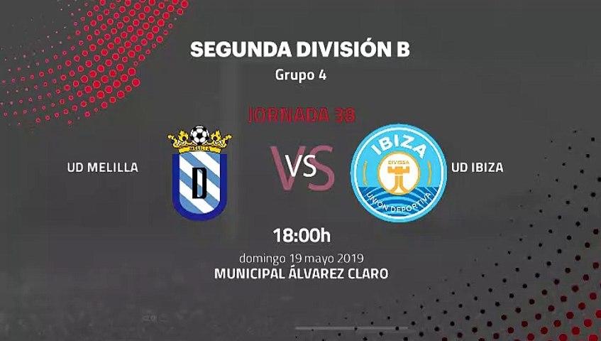 Previa partido entre UD Melilla y UD Ibiza Jornada 38 ...