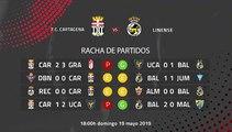 Previa partido entre F.C. Cartagena y Linense Jornada 38 Segunda División B