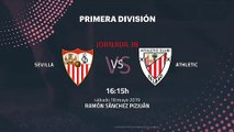 Previa partido entre Sevilla y Athletic Jornada 38 Primera División