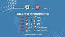 Previa partido entre J. Torremolinos y CD Rincón Jornada 42 Tercera División