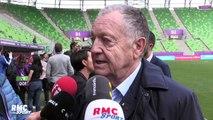 """Ligue des champions féminine : """"Il faudra un grand Olympique Lyonnais (pour gagner la finale)"""" juge Aulas"""