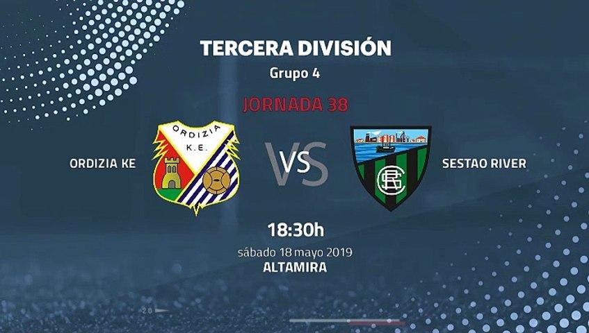 Previa partido entre Ordizia KE y Sestao River Jornada 38 ...