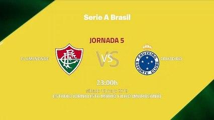 Previa partido entre Fluminense y Cruzeiro Jornada 5 Liga Brasileña