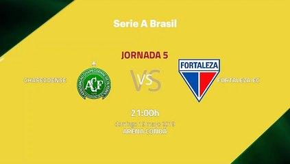 Previa partido entre Chapecoense y Fortaleza EC Jornada 5 Liga Brasileña