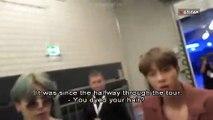 [빙탄 소년단] BTS Suga & Jimin   Love  Yourself Tour in Europe    English sub  USA