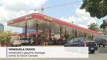 Gasoline shortage comes to haunt Caracas