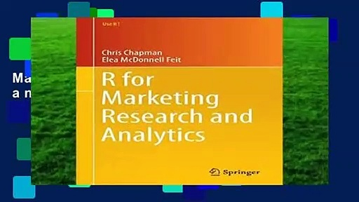 Full version  R for Marketing Research and Analytics (Use R!) Complete