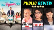 De De Pyaar De PUBLIC REVIEW ⭐ ⭐ ⭐ | Ajay Devgn | Rakul Preet Singh