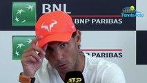"""ATP - Rome 2019 - Rafael Nadal est en demies contre Stefanos Tsitsipas et """"très heureux"""" !"""