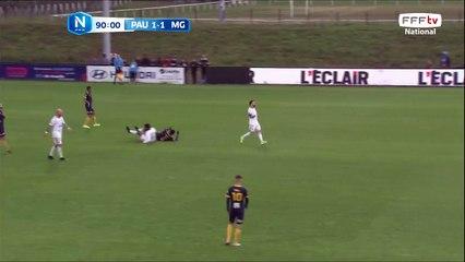 But de LAMINE GUEYE sur un super contre attaque ! 2-1 pour le Pau FC.