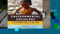 Full version  Environmental Sociology: From Analysis To Action  Review