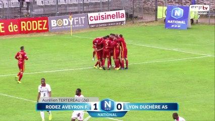 J34 : Rodez Aveyron Football - Lyon Duchère AS (5-1), le résumé