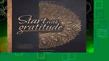 About For Books  Start With Gratitude: Daily Gratitude Journal | Positivity Diary for a Happier