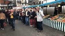 Flash-mob gavotte sur le marché de Morlaix !
