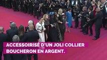 PHOTOS. Cannes 2019 : le mannequin Anja Rubik fait sensation sur le tapis rouge avec un décolleté impressionnant