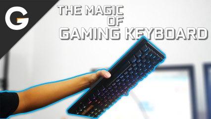 THE MAGIC OF GAMING KEYBOARD!!! || SKETCH #20