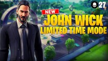 NEW John Wick LTM is AWESOME! 27 Elims | Fortnite Battle Royale