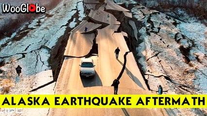 Unbelievable  : Alaska 72 Magnitude Earthquake Aftermath Causes Destruction